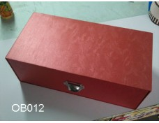 Red Drawer Boxes