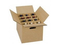 Corrugated Board Wine Box