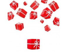 Small Red Gift Boxes