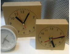 Paper Electronic Clocks