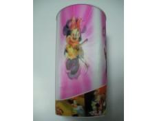 3D round plastic cup