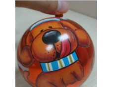 water transfer film printing on christmas ball