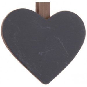 PDF Brown Heart Blackboard with Peg