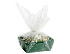 White Dot Cellophane Wrap Packaging